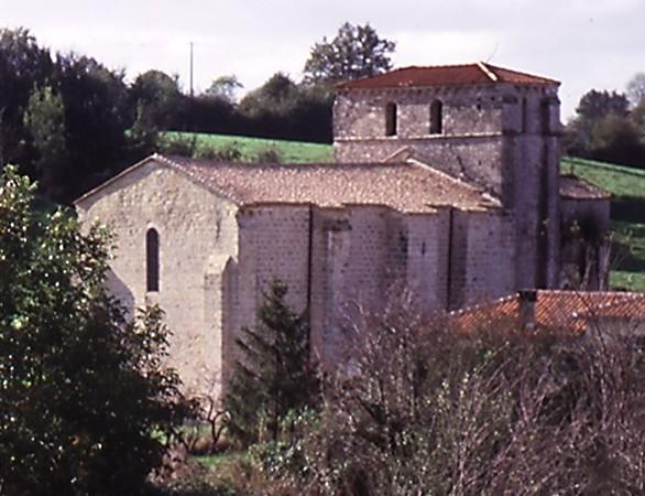 Eglise romane Sainte Eugène Xaintray