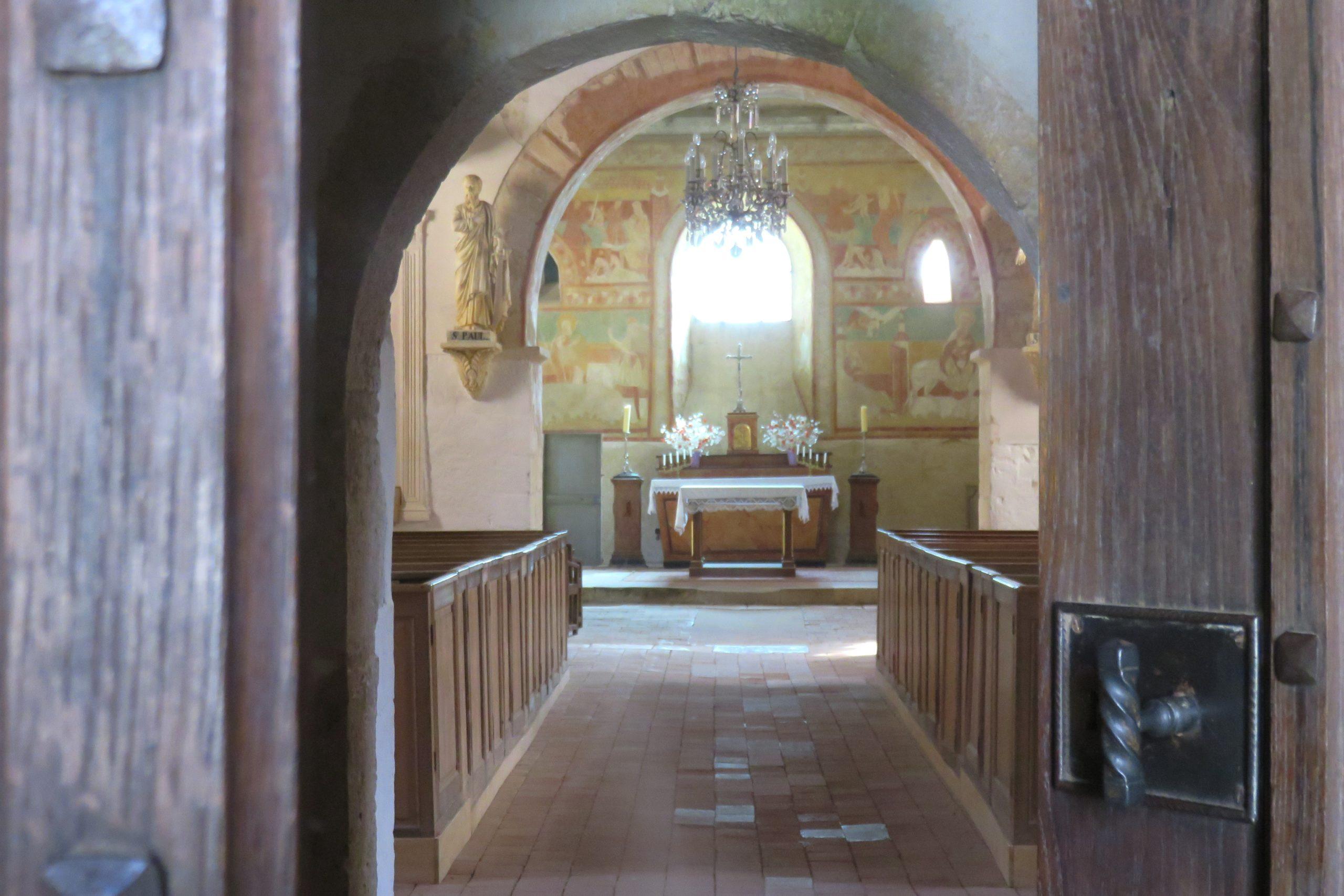 Eglise Saint-Aignan Brinay