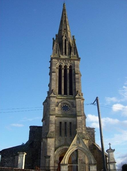 Eglise Saint-Albert Lamothe-Landerron