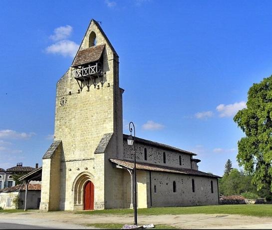 Eglise Saint-André de Lucmau Lucmau