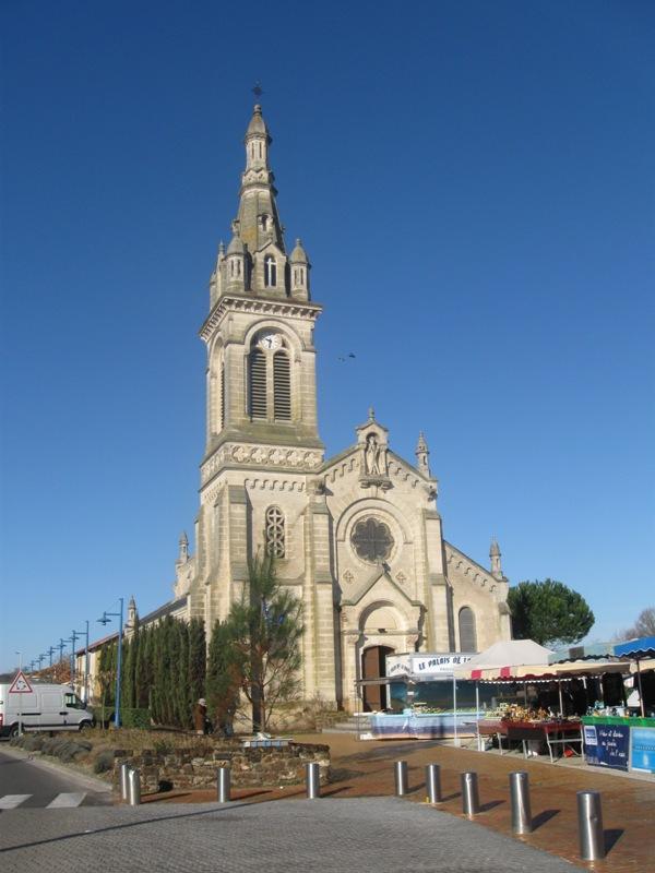 Eglise Saint-André du Teich Le Teich
