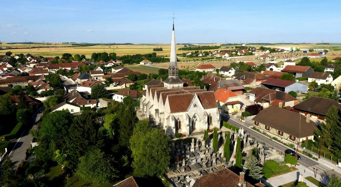 Eglise Saint-Aventin Creney-près-Troyes