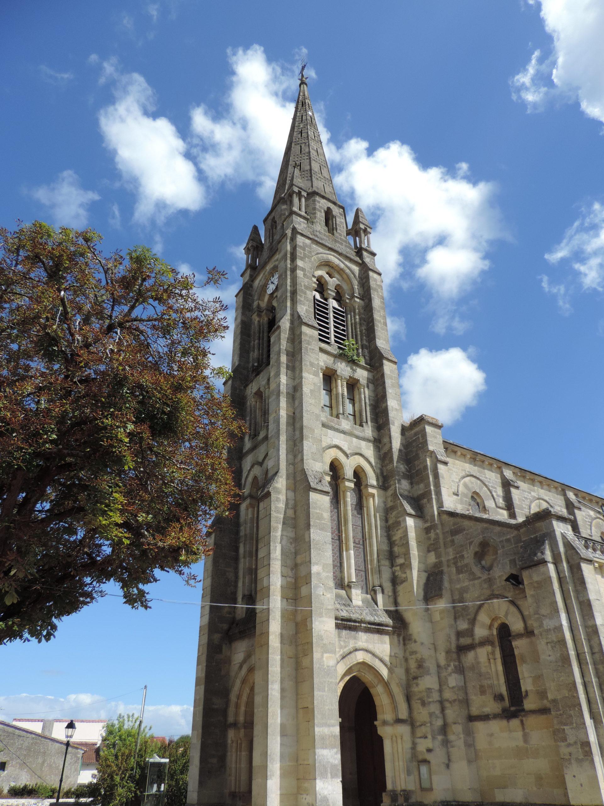 Eglise Saint-Brice de Saint-Yzans-de-Médoc Saint-Yzans-de-Médoc