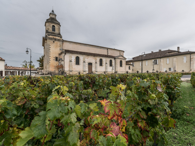 Eglise Saint Didier de Cantenac Margaux-Cantenac