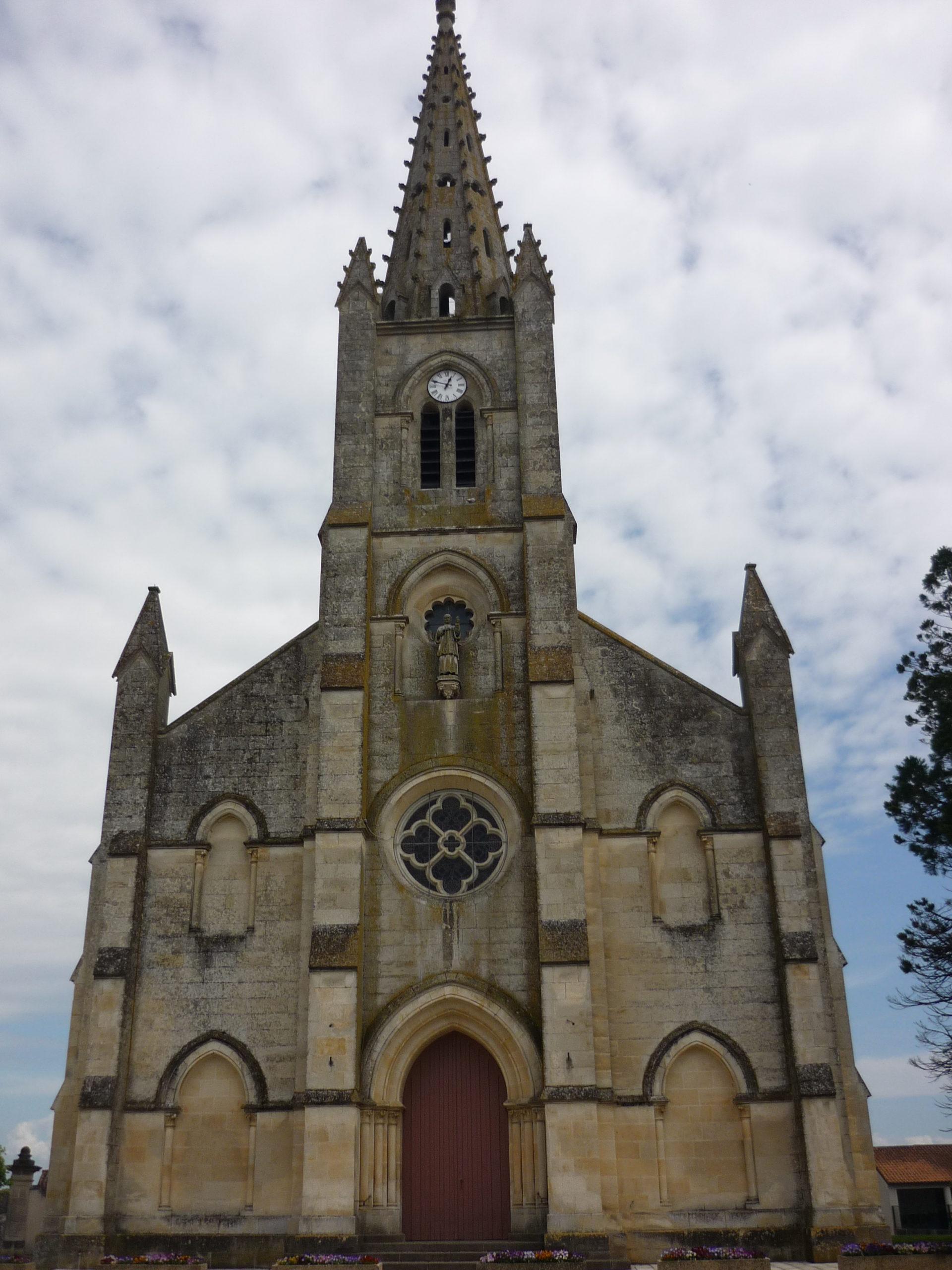 Eglise Saint-Eutrope du Vanneau Le Vanneau-Irleau