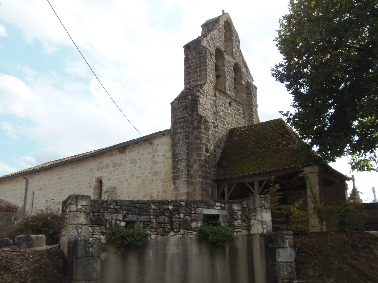 Eglise Saint-Eutrope Saint-Colomb-de-Lauzun