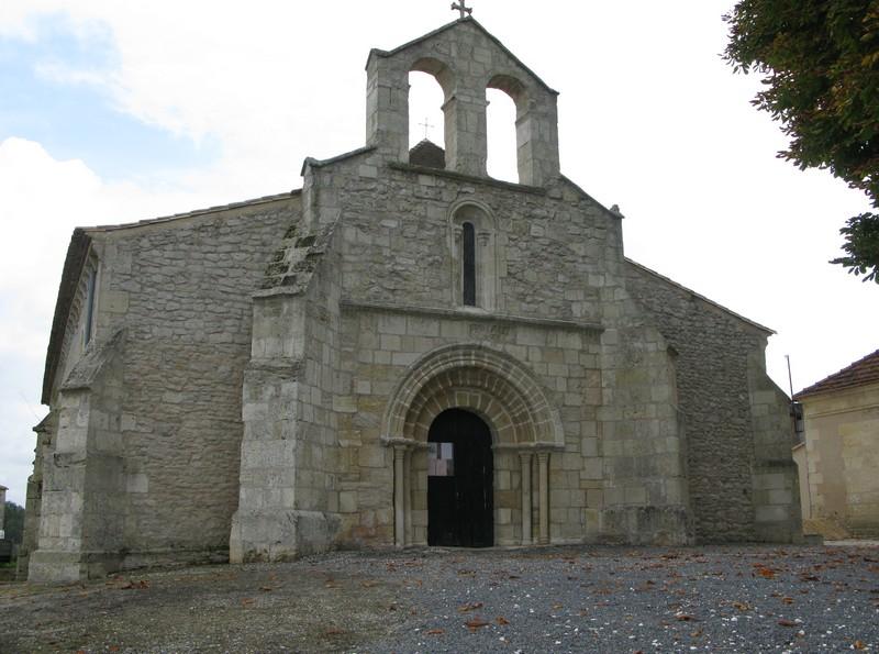 Eglise Saint-Genès de Générac Générac