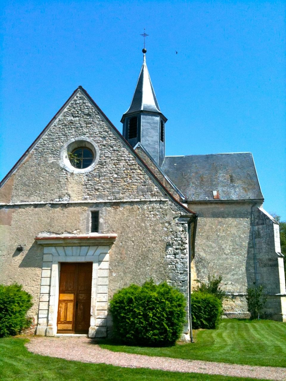 Eglise Saint Georges à Etourvy Étourvy