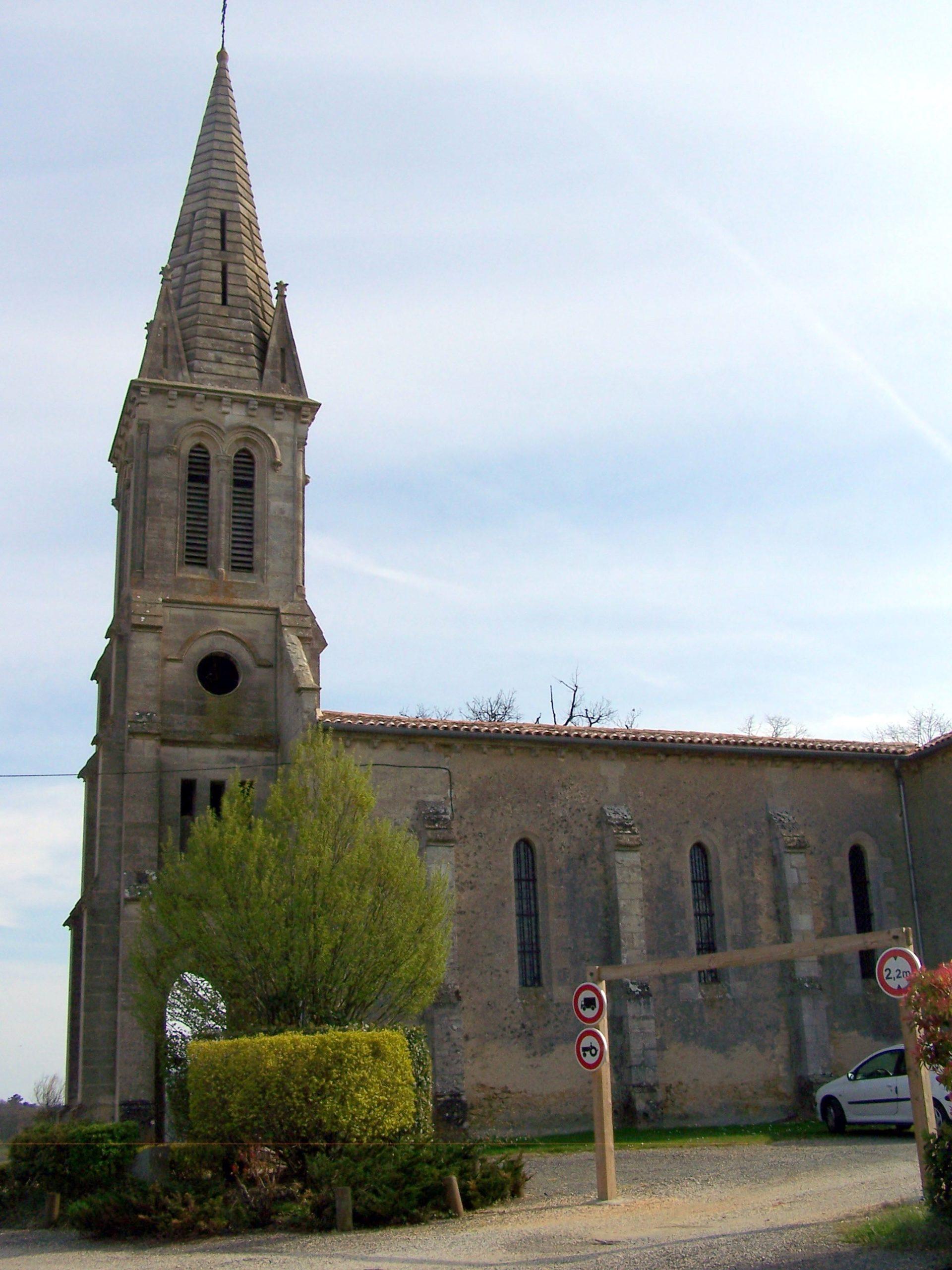 Eglise Saint-Germain de Saint-Germain-de-Graves Saint-Germain-de-Grave