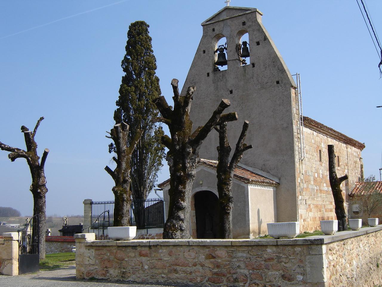 Eglise Saint-Gilles Cazideroque