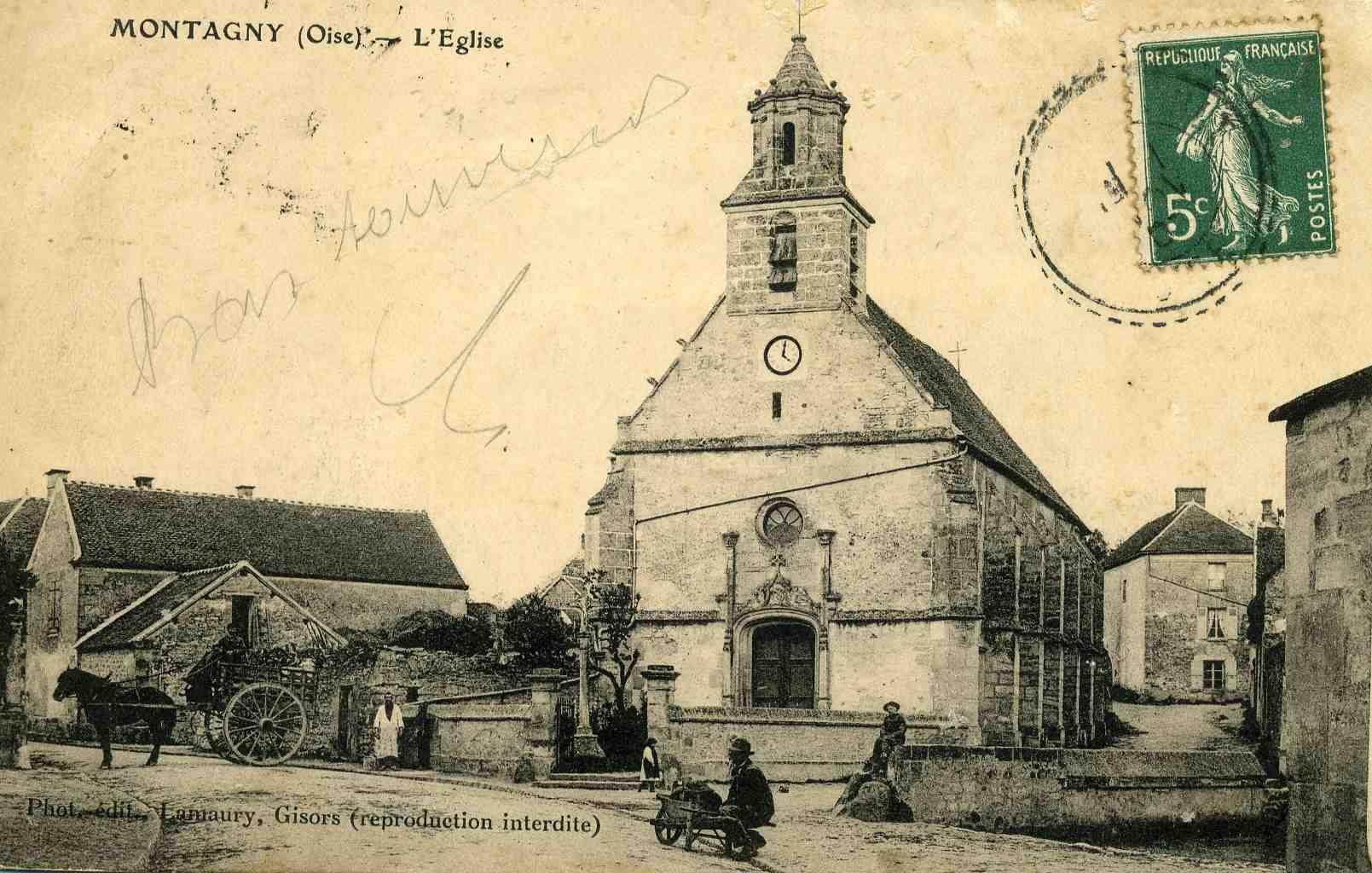 Eglise Saint-Jacques et Saint-Christophe Montagny-en-Vexin
