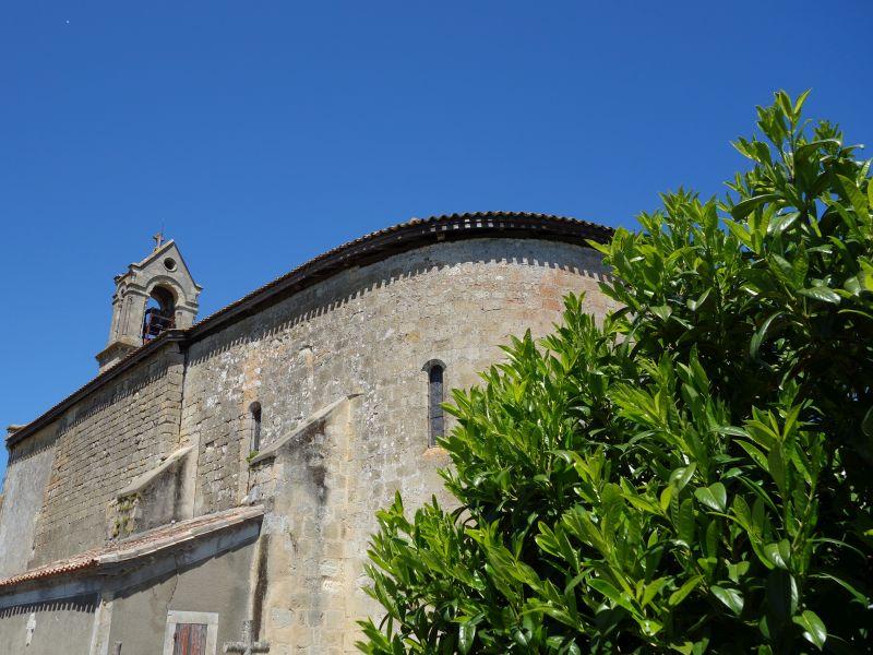 Eglise Saint-Jean Baptiste de Sendets Sendets