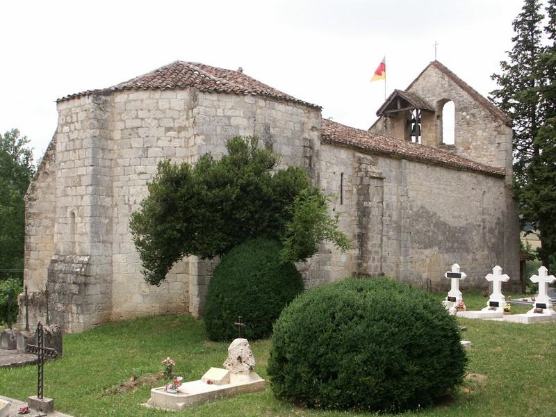Eglise Saint-Jean-de-Balerme Montpezat