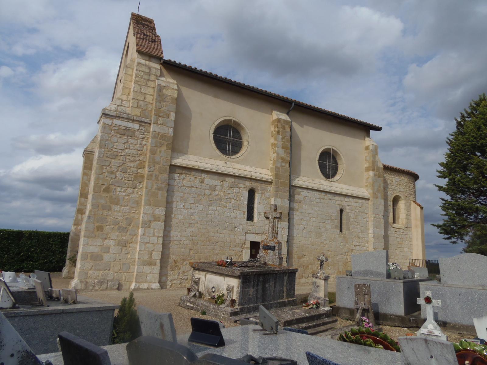 Eglise Saint-Laurent de Salabès Montignac-de-Lauzun