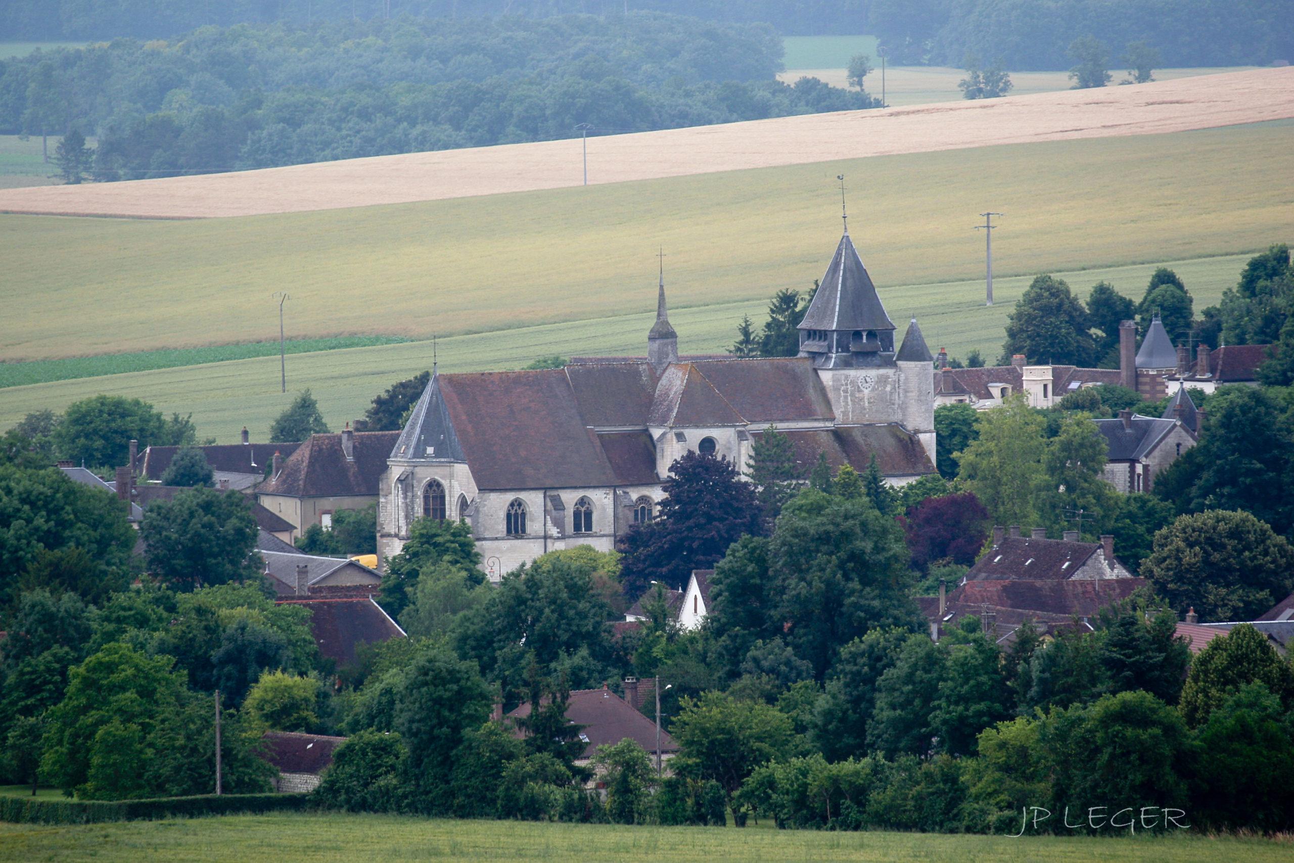 Eglise Saint-Loup à Auxon