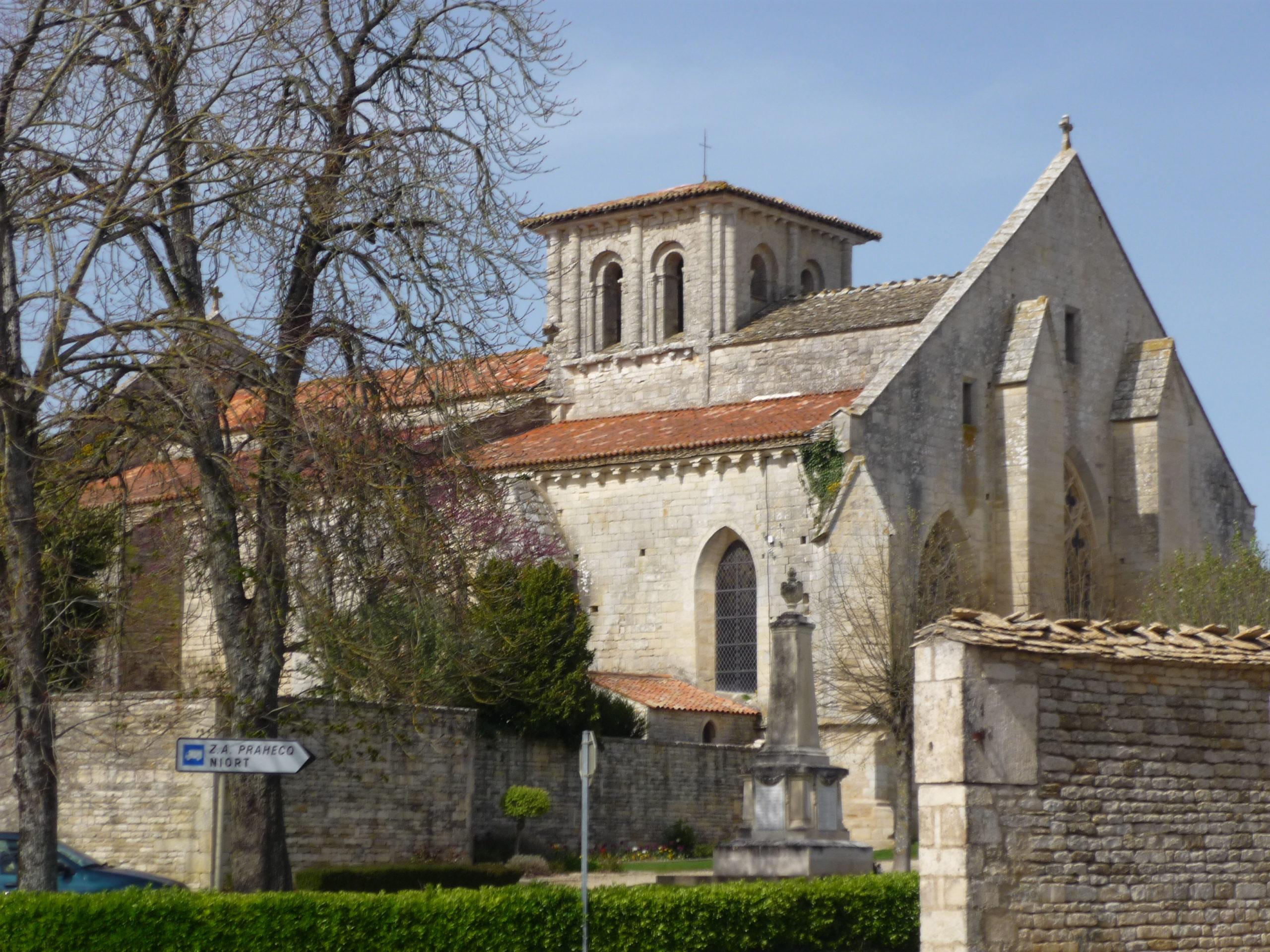 Eglise Saint-Maixent de Prahecq Prahecq