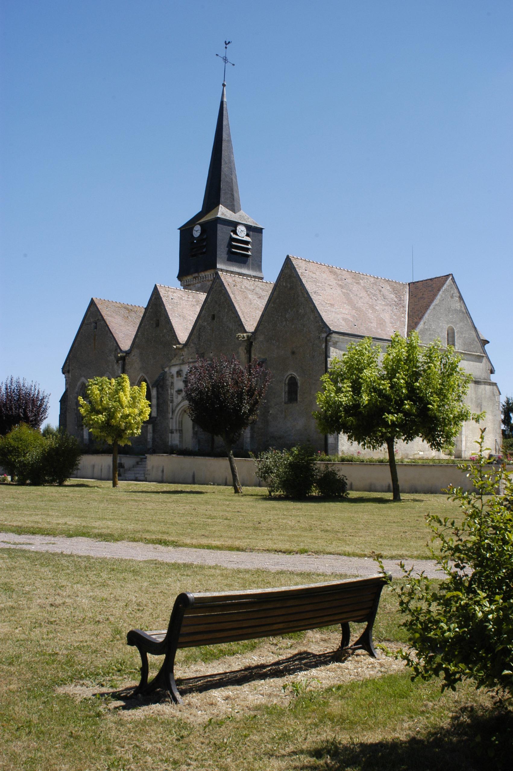 Eglise Saint Martin à Lignières