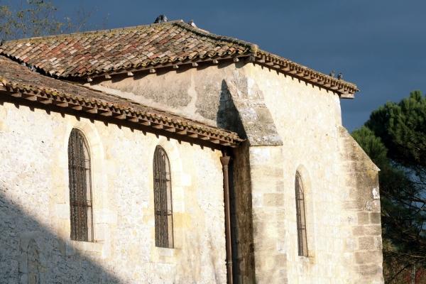 Eglise Saint-Maurille de Saint-Morillon
