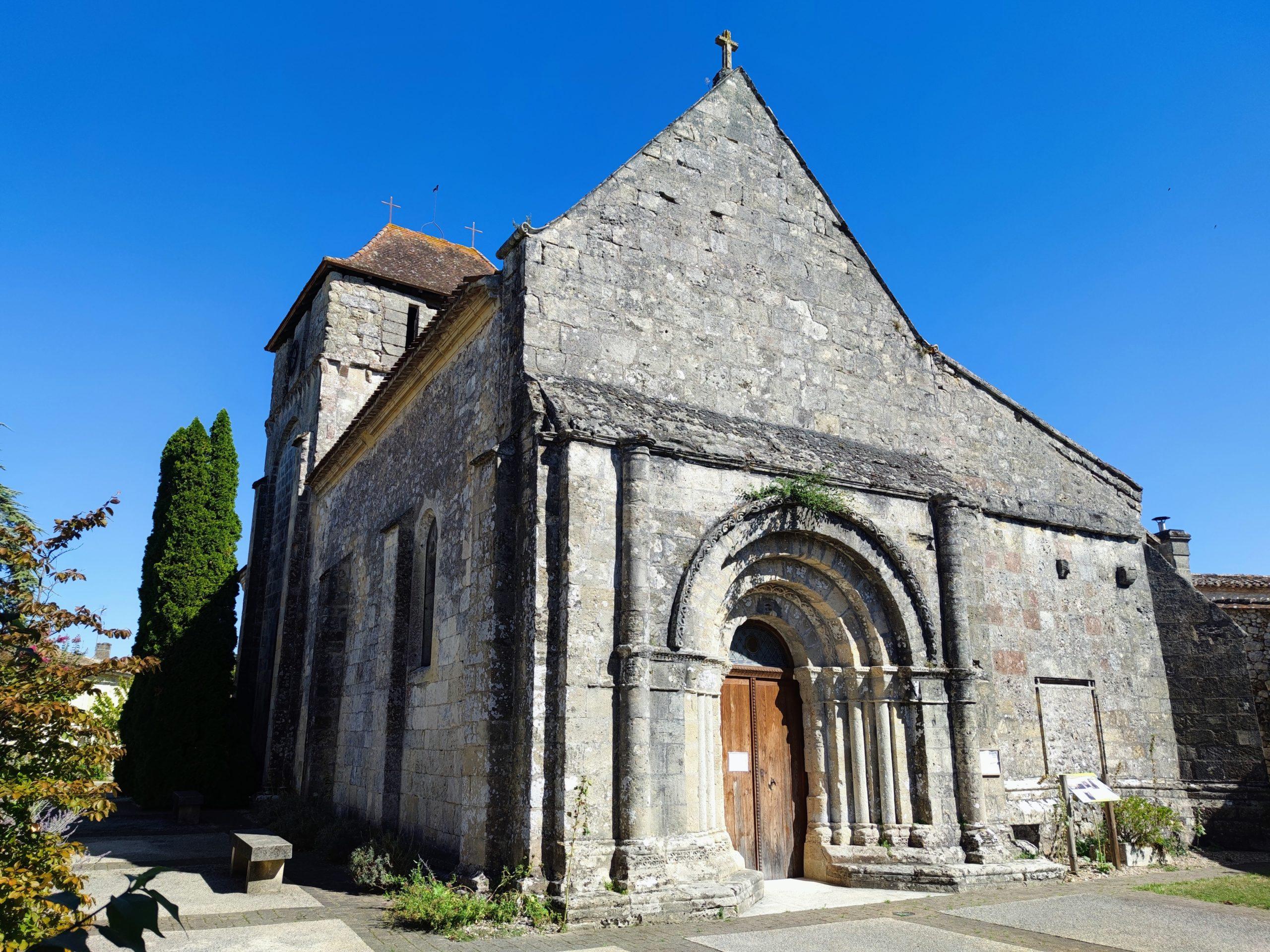 Église Saint-Michel Saint-Michel-de-Montaigne