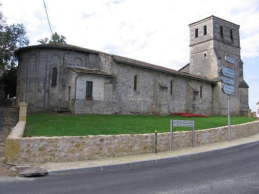 Eglise Saint-Pierre de Lagorce Lagorce