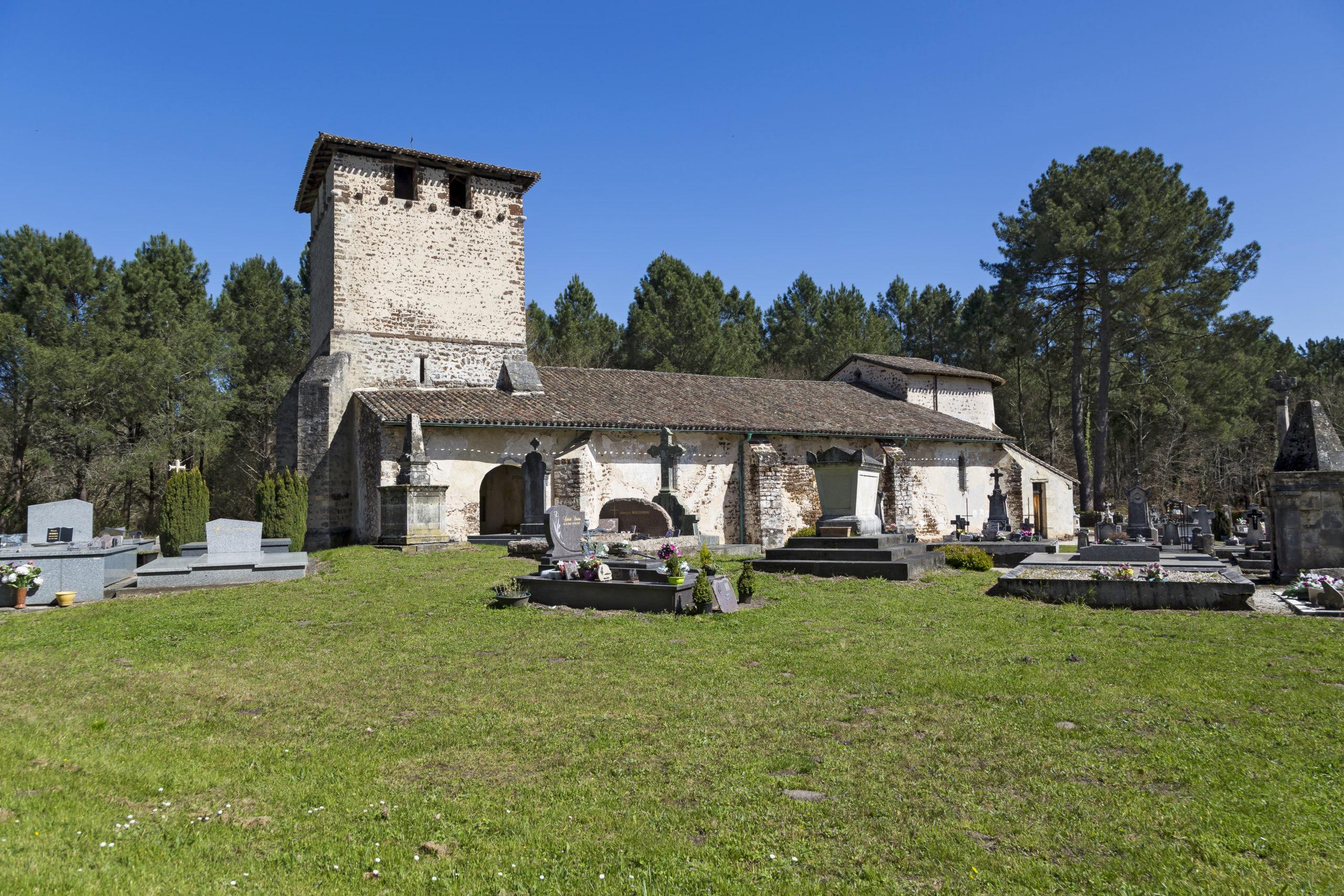 Eglise Saint-Pierre de Mons Belin-Béliet