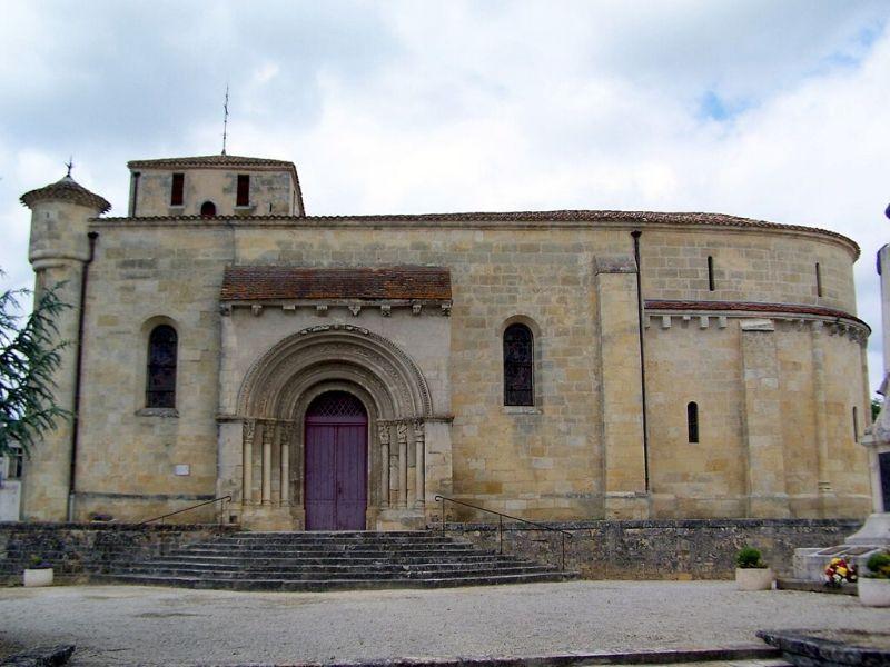 Eglise Saint-Romain de Targon Targon