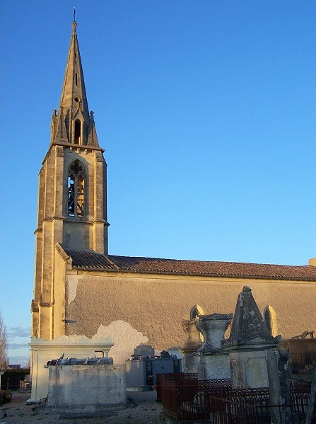 Eglise Saint-Saturnin de Montagoudin Montagoudin