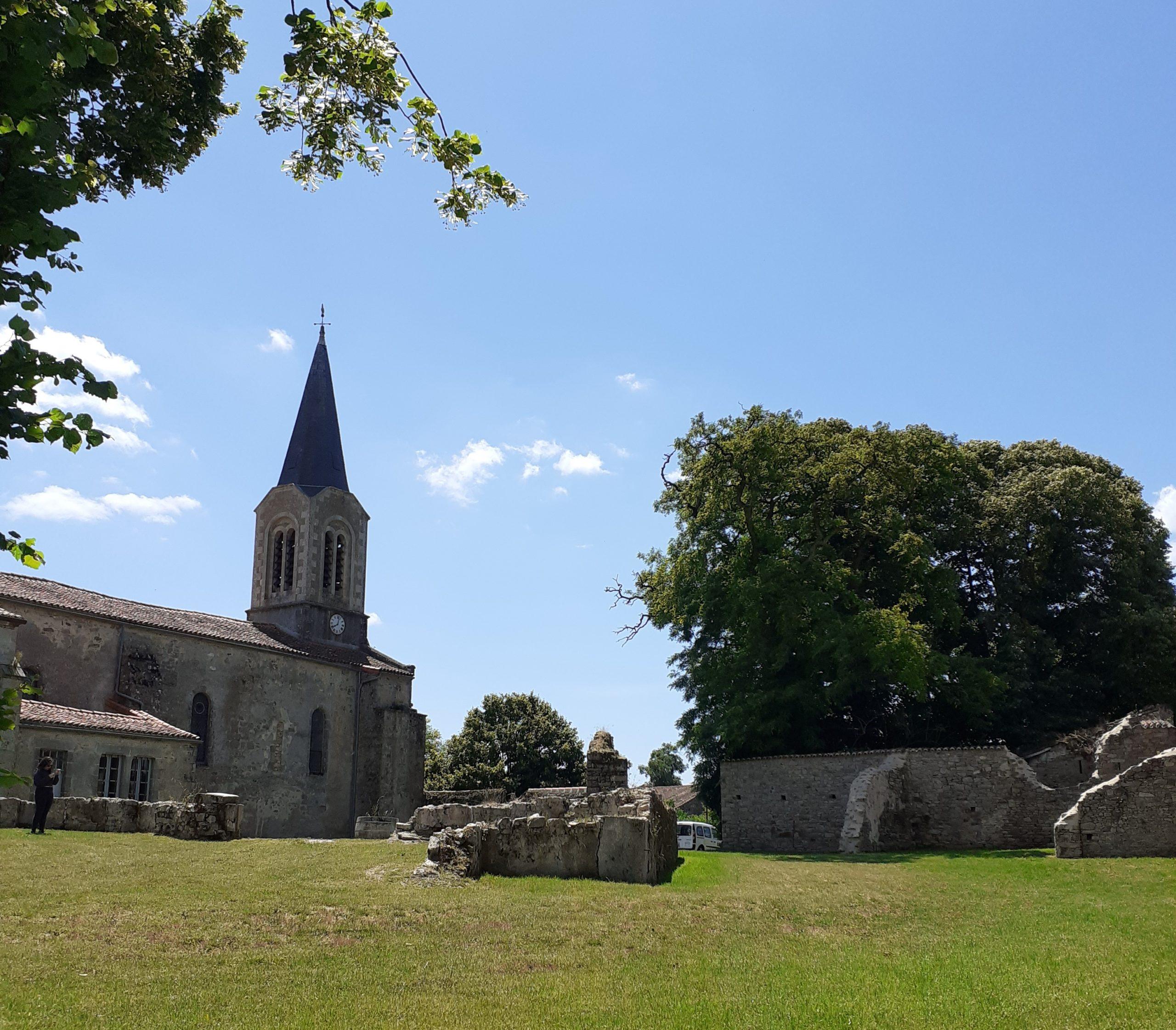 Eglise Saint-Saturnin La Chapelle-Bertrand