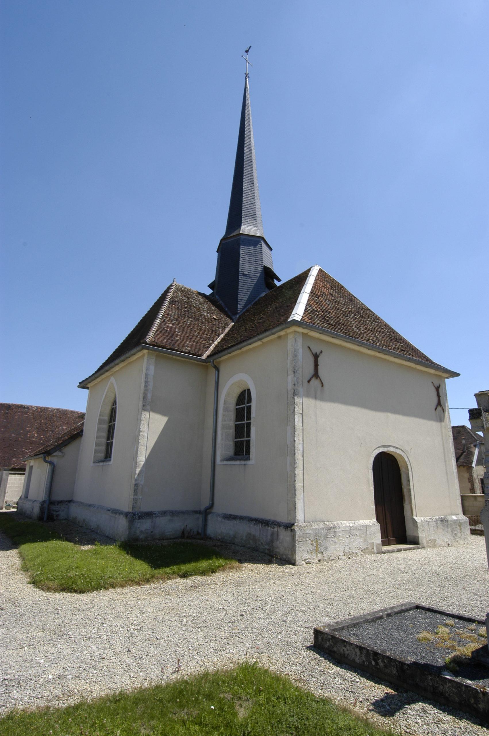 Eglise Saint Sébastien à Les Granges