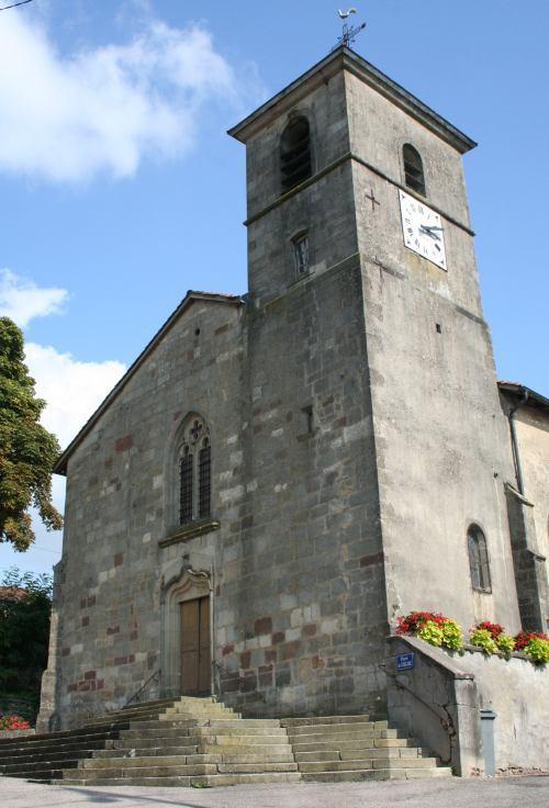 ÉGLISE SAINT SULPICE Ville-sur-Illon