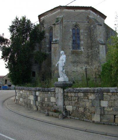 Église Sainte-Quitterie Frégimont