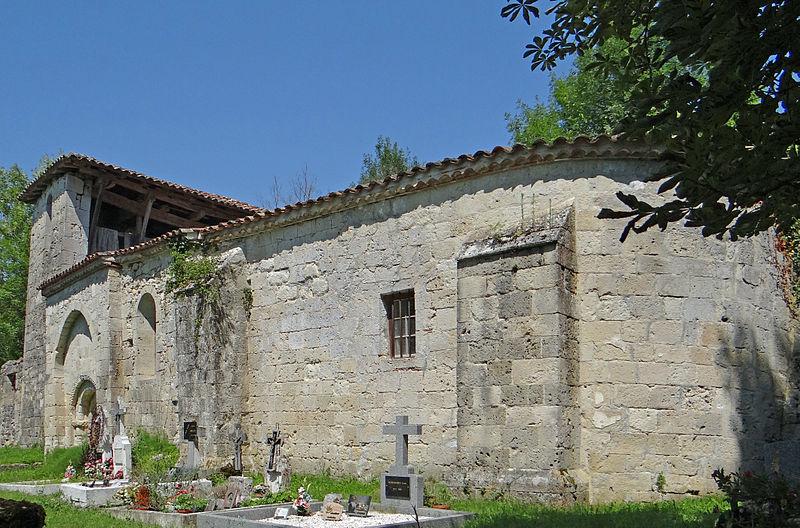 Eglise Sainte Raffine de Gaujac