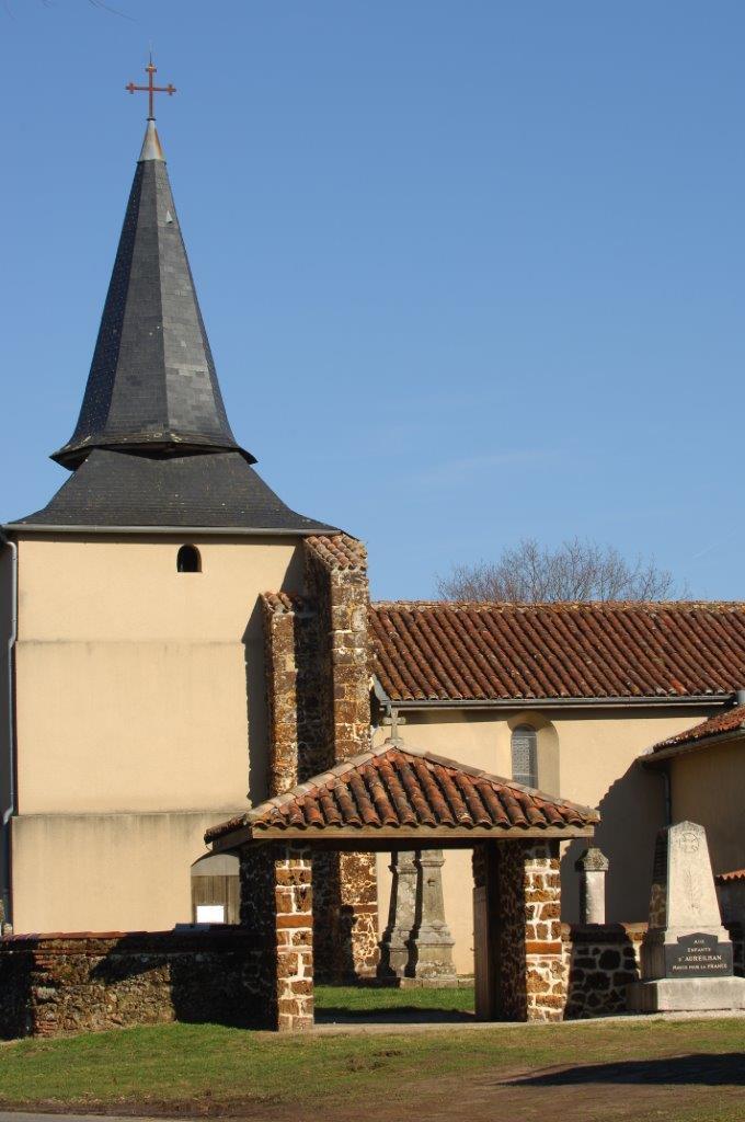 Eglise Sainte Ruffine d'Aureilhan Aureilhan