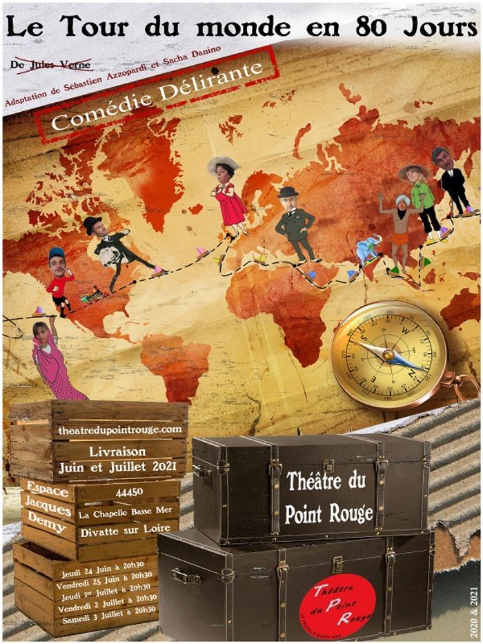 Le Tour du Monde en 80 Jours Espace Jacques Demy Divatte-sur-Loire