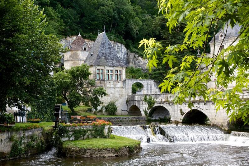 Jardin des Moines & Pont coudé