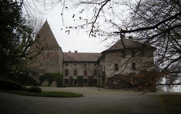 Jardin du château de Beauregard Chens-sur-Léman