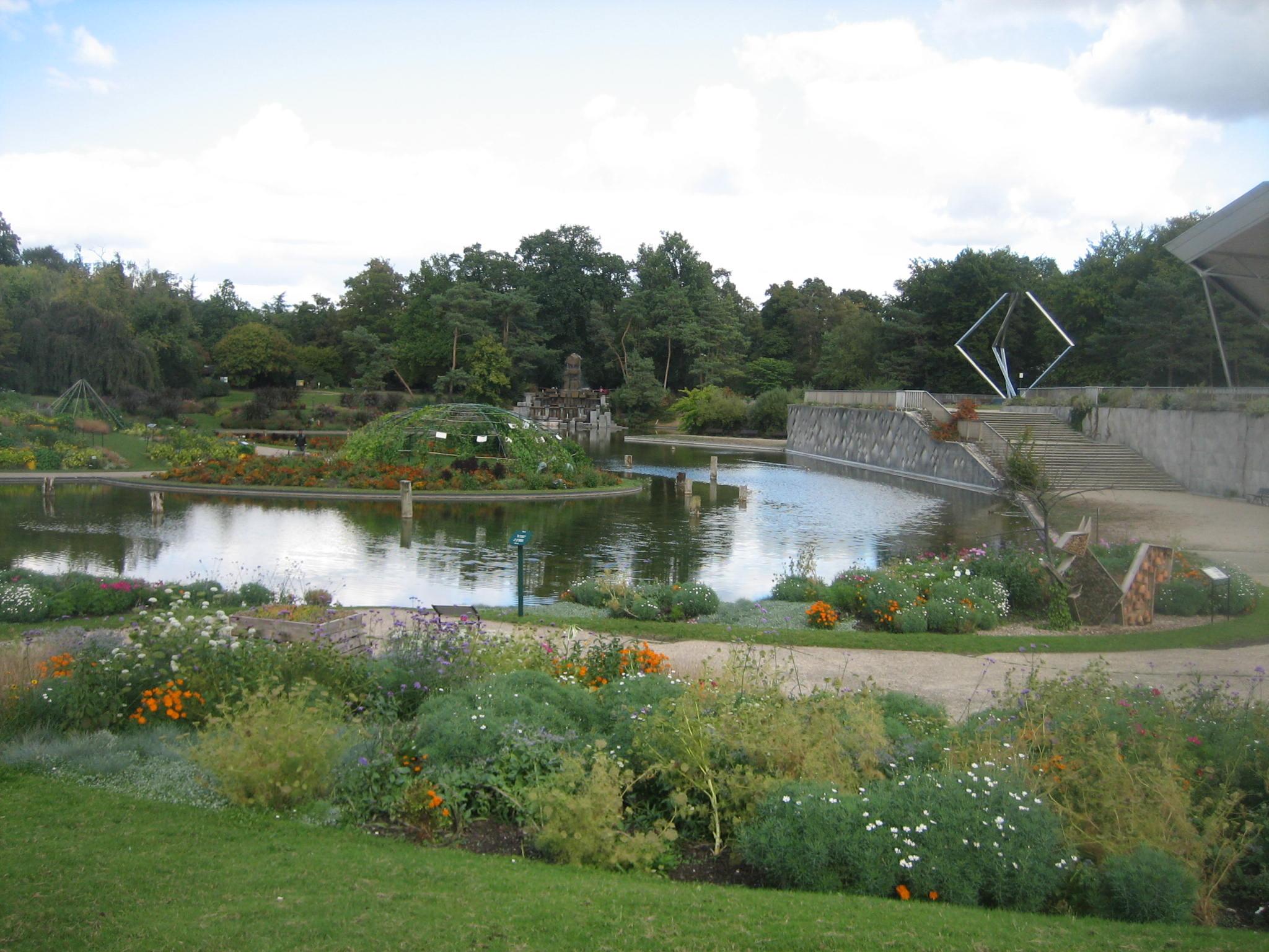 Jardins contemporains 1re partie Parc Floral de Paris Paris