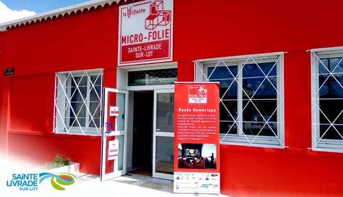 La Micro Folie Sainte-Livrade-sur-Lot