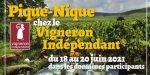 Pique-Nique chez le Vigneron Indépendant dans l'Hérault (34) Languedoc Montpellier