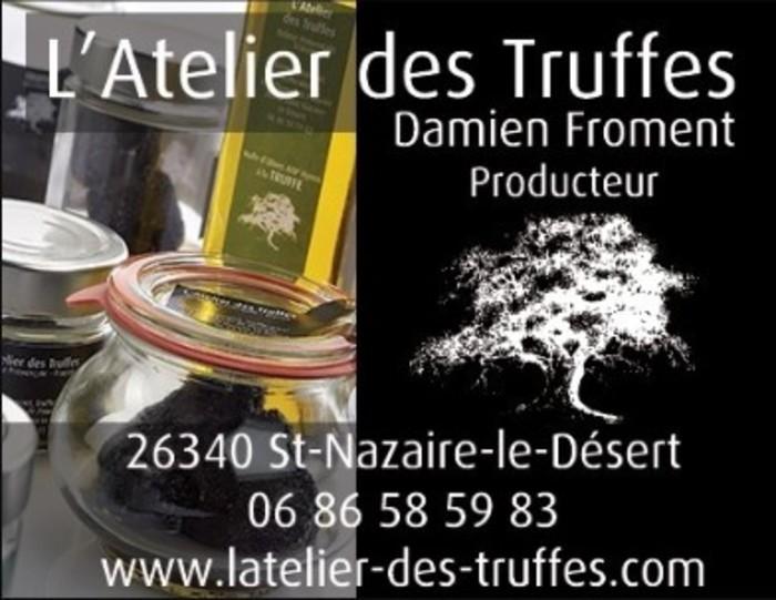 L'Atelier des Truffes - Ferme de Pourcier Saint-Nazaire-le-Désert