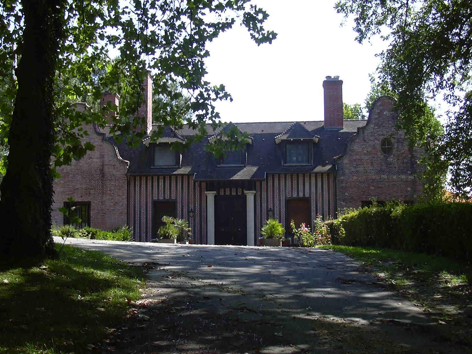 Le château de Woolsack Mimizan