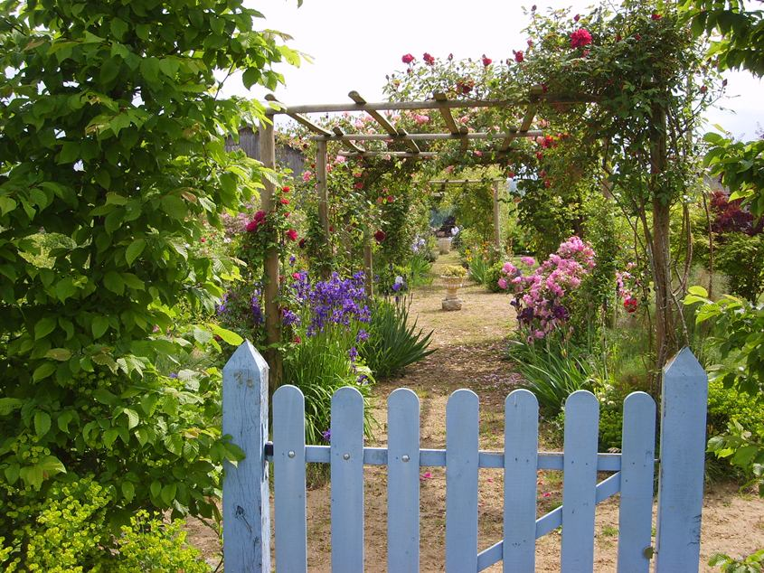Le jardin de Mireille Auriac-sur-Dropt