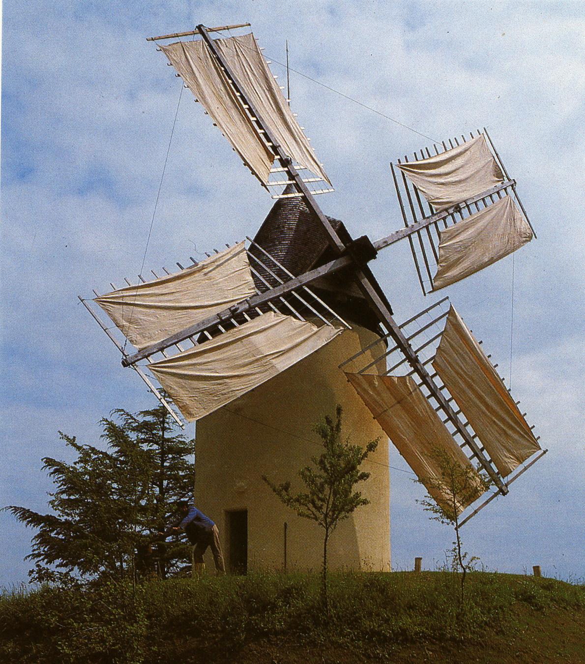 Le Moulin à Vent de Gibra Gontaud-de-Nogaret