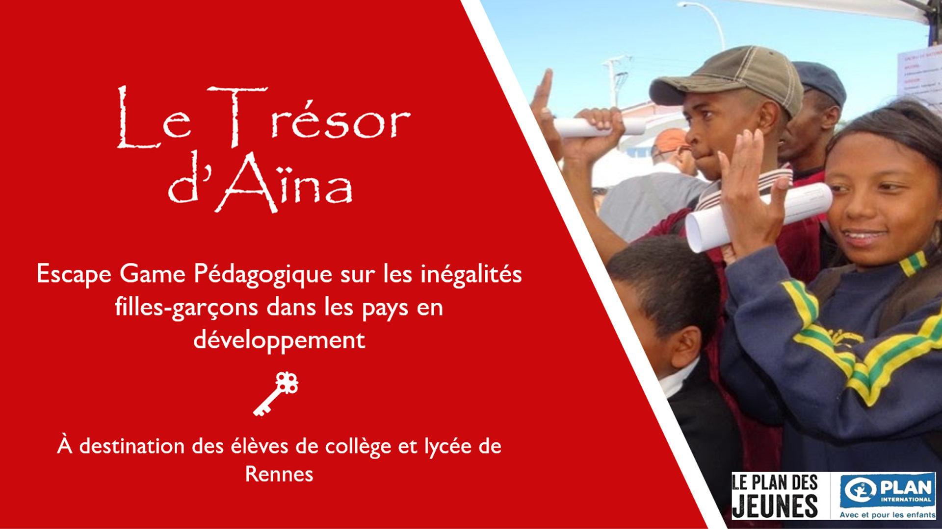 Le Trésor d'Aina Escape Game Rennes
