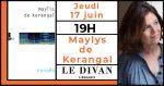 Litterature : Rencontre avec Maylis de Kerangal Librairie Le Divan Paris