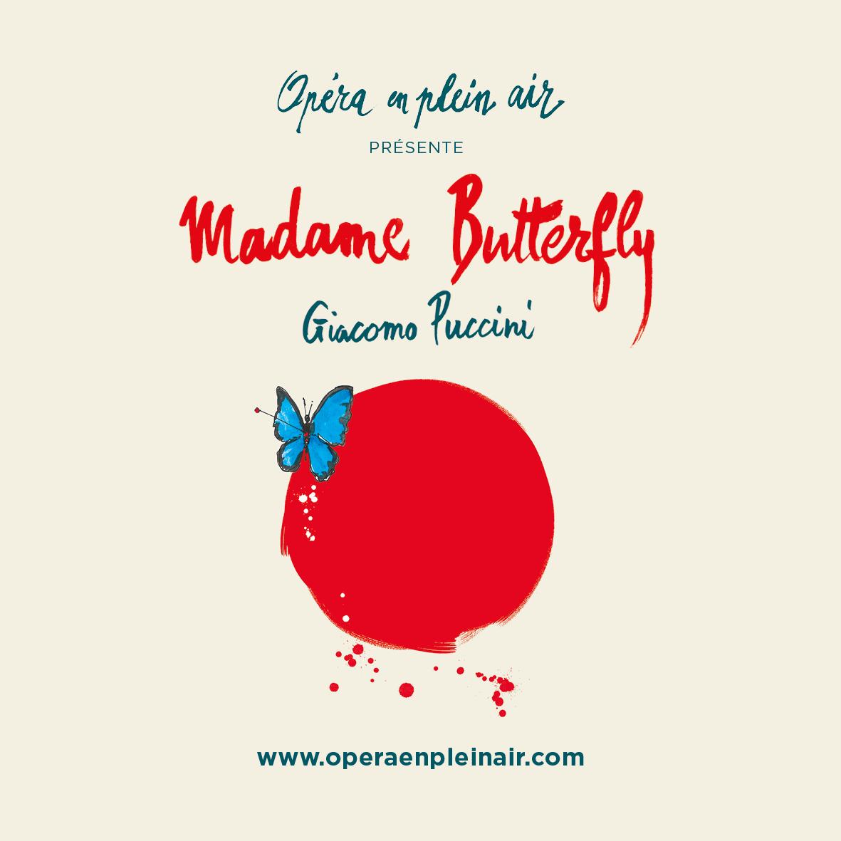 MADAME BUTTERFLY - FESTIVAL Opéra en plein air (SCEAUX) DOMAINE DEPARTEMENTAL DE SCEAUX SCEAUX