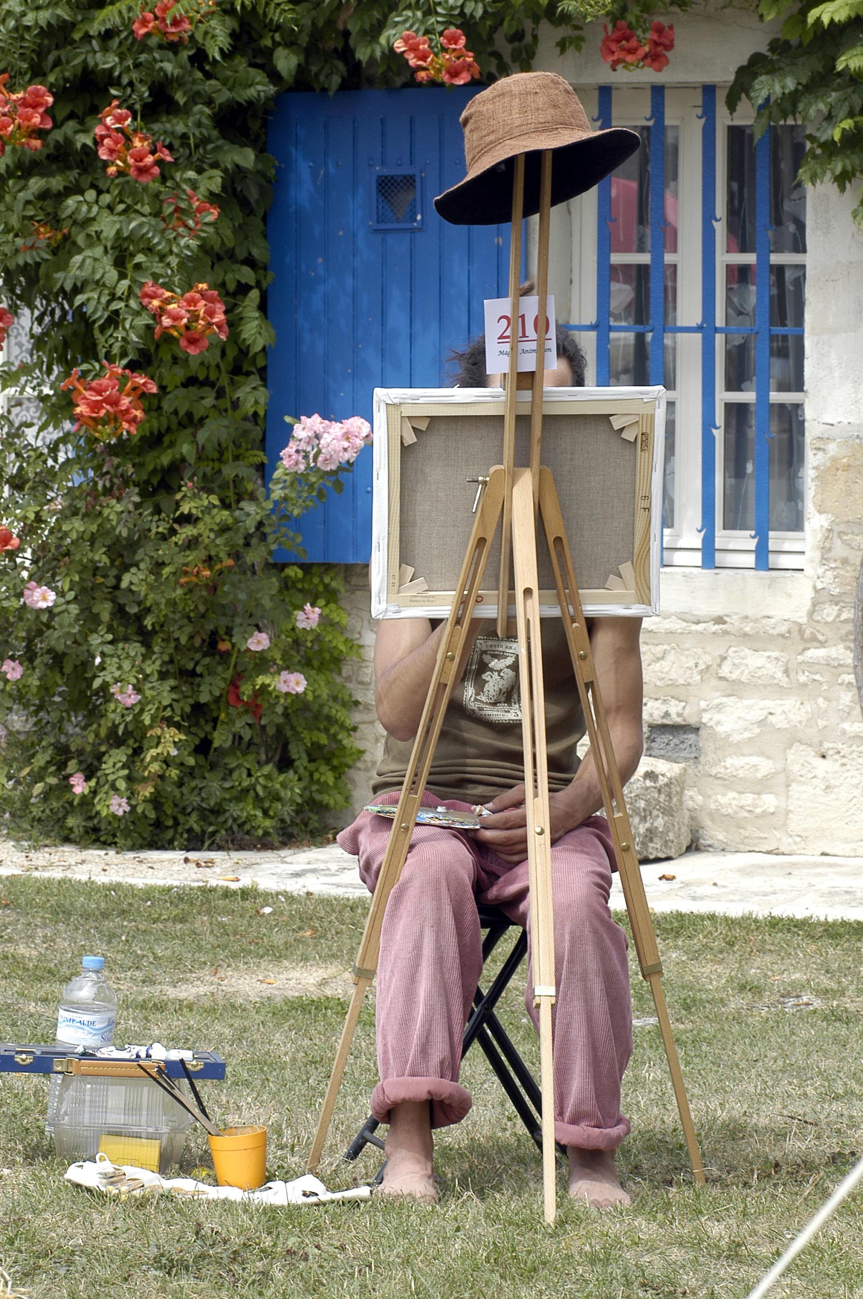 Magné et son Festival international de peinture