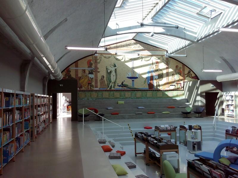 Médiathèque Aqua-Libris Saint-Maixent-l'École