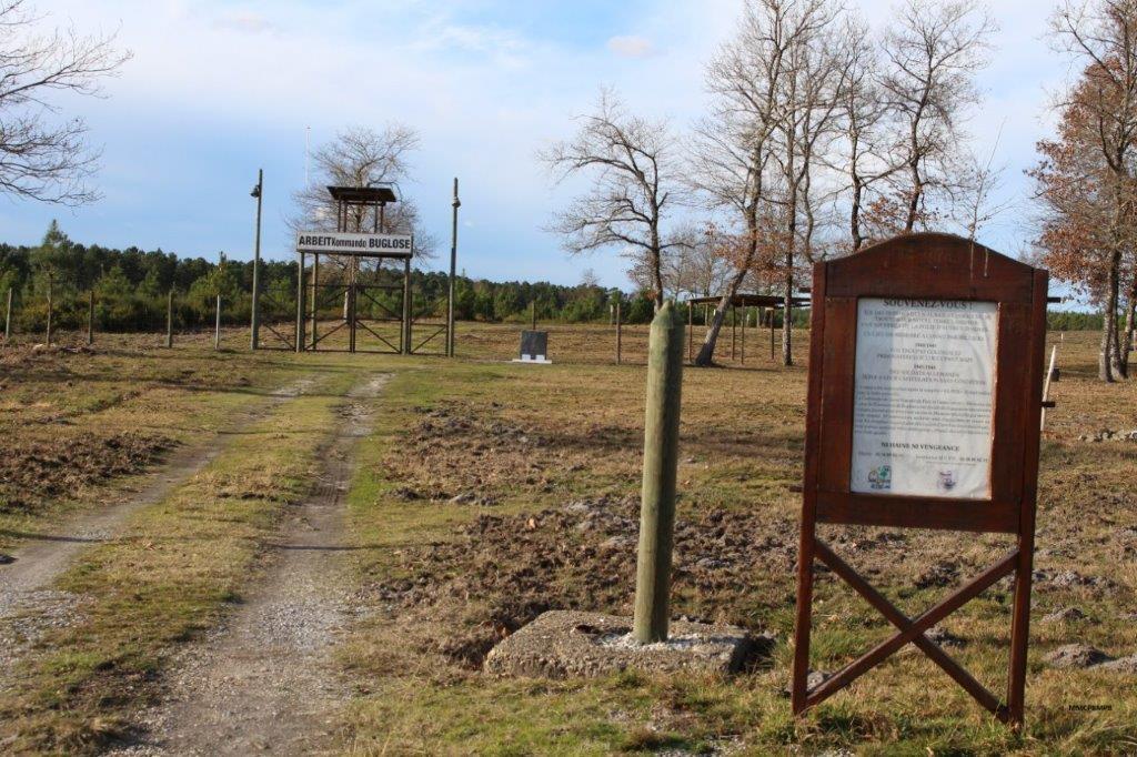 Mémoire du camp de prisonniers de Buglose Saint-Vincent-de-Paul