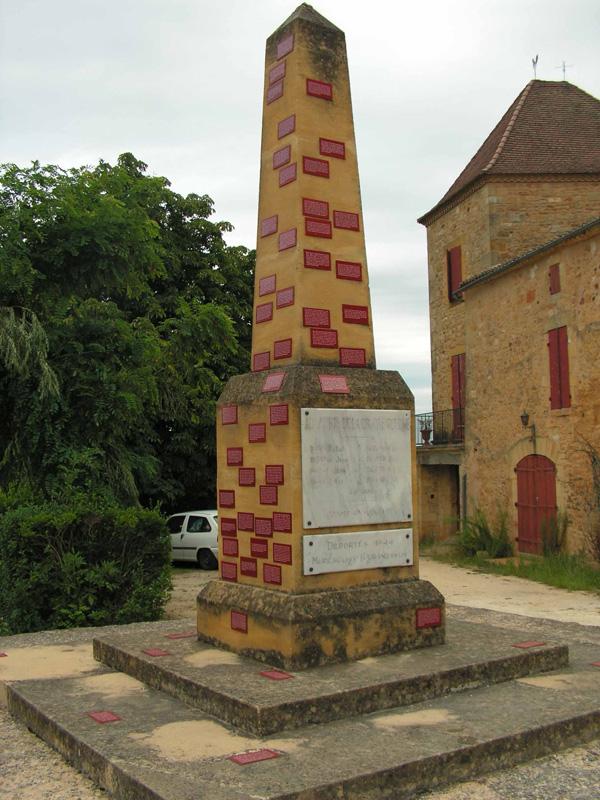 Monument aux vivants Biron